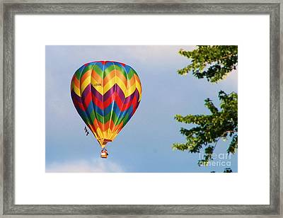 Sunshine On Balloon Framed Print