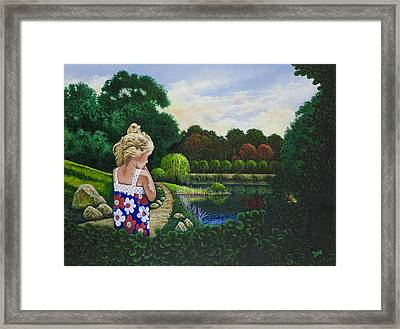 Sunshine Travelers Framed Print by Michael Frank