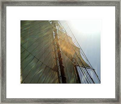 Sunstreaked Framed Print