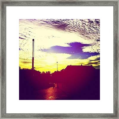 #super #colourful #sky - Not Framed Print