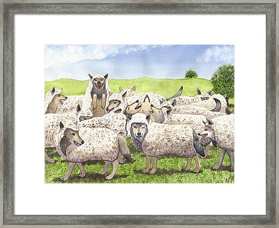 Super Pac Framed Print by Catherine G McElroy
