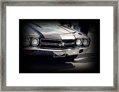 Super Sport Framed Print by Desiree Lyon