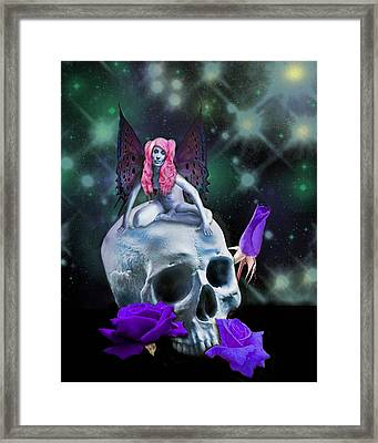 Super Star Framed Print by Diana Shively