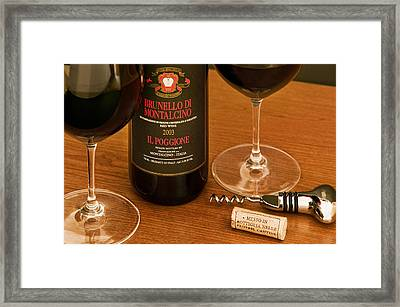 Super Tuscan Framed Print by John Galbo