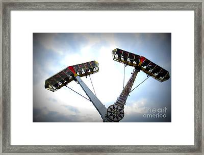 Superflyer Framed Print by Maria Scarfone