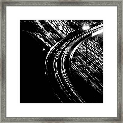 Superhighway Framed Print