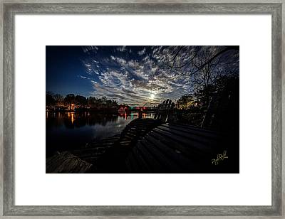 Supermoon Framed Print by Everet Regal
