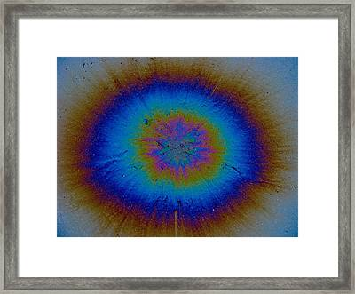 Supernova Framed Print by Samuel Sheats