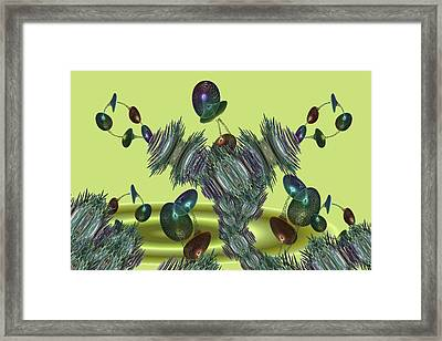 Superplant Framed Print by Ricky Kendall