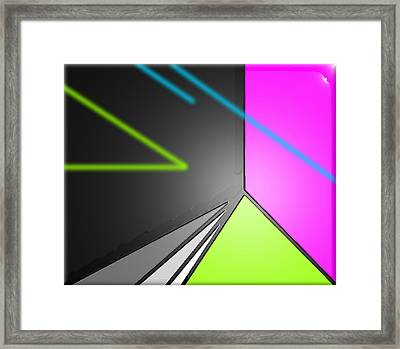 Supersonic Framed Print by Robyn Lang