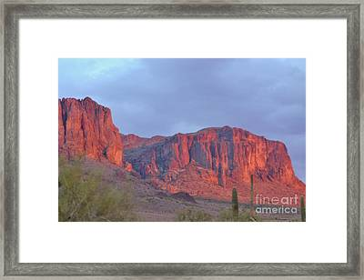 Superstitions After The Rain Framed Print by Patty Descalzi