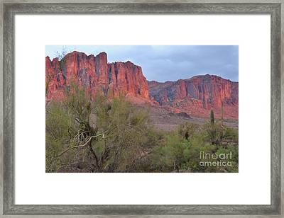 Superstitions Framed Print by Patty Descalzi