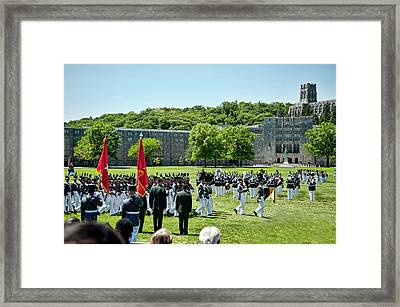 Supe's Review  Framed Print