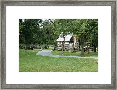 Supper Time In History Framed Print
