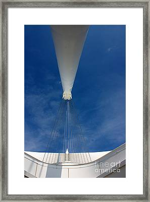 Support Beam Framed Print by David Bearden