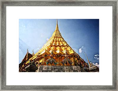 Supported Framed Print by Thanh Tran