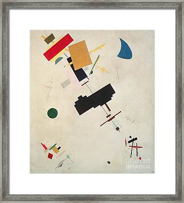 Suprematist Composition No 56 Framed Print by Kazimir Severinovich Malevich