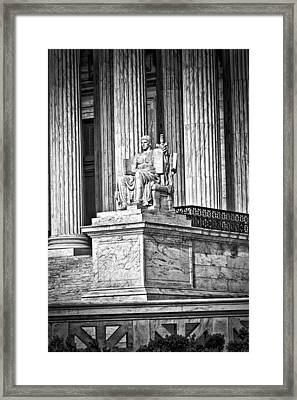 Supreme Court Building 1 Framed Print by Val Black Russian Tourchin
