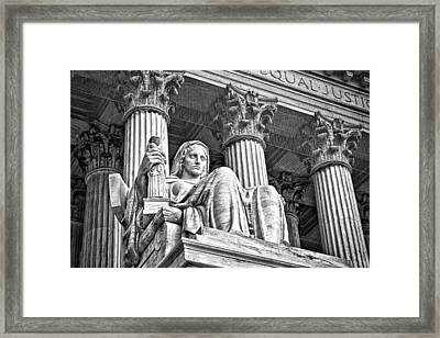 Supreme Court Building 15 Framed Print by Val Black Russian Tourchin