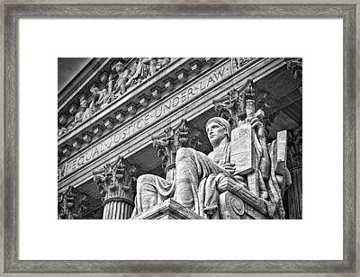 Supreme Court Building 22 Framed Print by Val Black Russian Tourchin