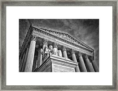 Supreme Court Building 7 Framed Print by Val Black Russian Tourchin