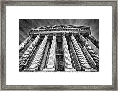 Supreme Court Building 8 Framed Print by Val Black Russian Tourchin