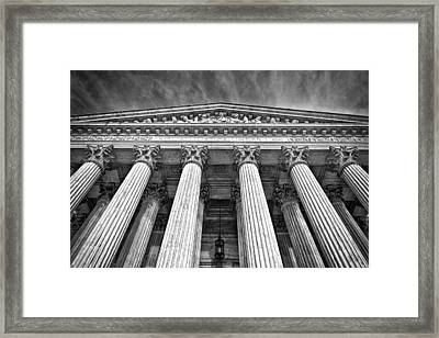 Supreme Court Building 9 Framed Print by Val Black Russian Tourchin