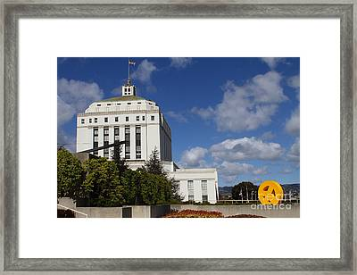 Supreme Court Of California . County Of Alameda . Oakland California View From Oakland Museum . 7d13 Framed Print by Wingsdomain Art and Photography