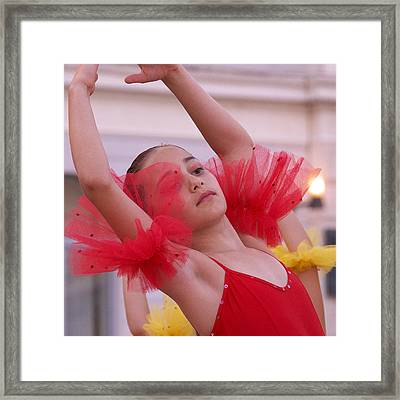 Framed Print featuring the photograph Surdouee by Graham Hawcroft pixsellpix