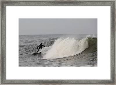 Surf 1 Framed Print by Dan Madden