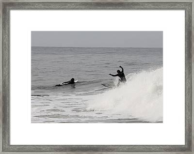 Surf 3 Framed Print by Dan Madden