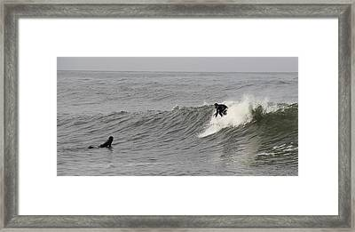 Surf 4 Framed Print by Dan Madden