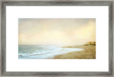Framed Print featuring the photograph Surf Casters by Karen Lynch