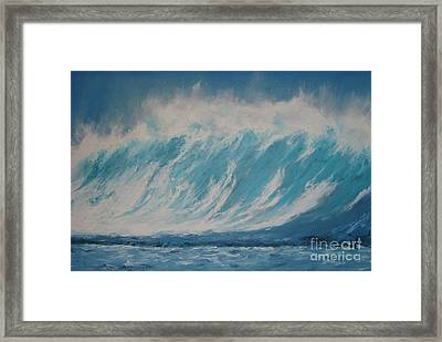 Surf Up Framed Print