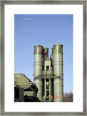 Surface-to-air Missile Unit Framed Print
