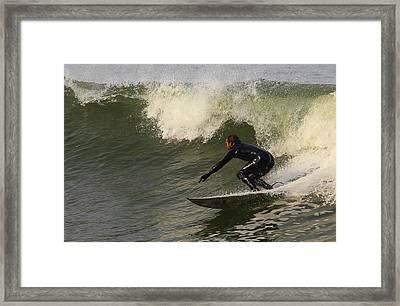 Surfer2 Framed Print by Dan Madden