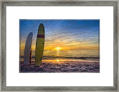 Surfers' Dreams Framed Print