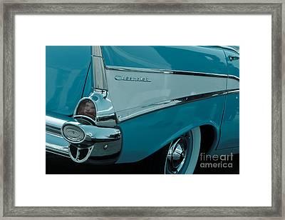 Surfin Chevy Rear Framed Print
