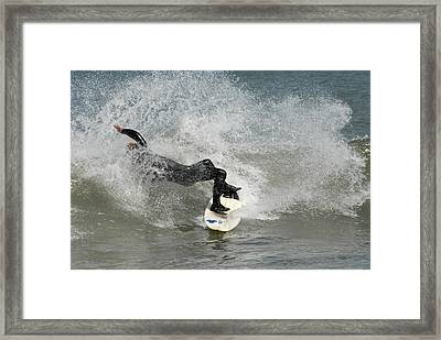 Surfing 396 Framed Print by Joyce StJames