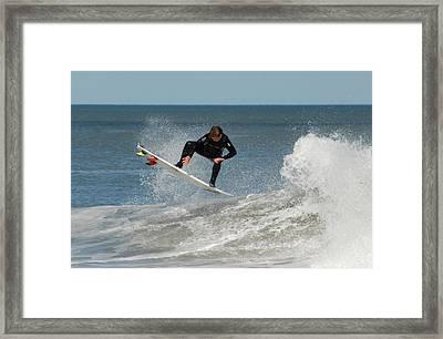 Surfing 399 Framed Print by Joyce StJames