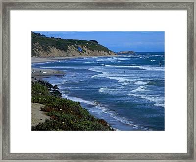 Surfing Paradise Framed Print