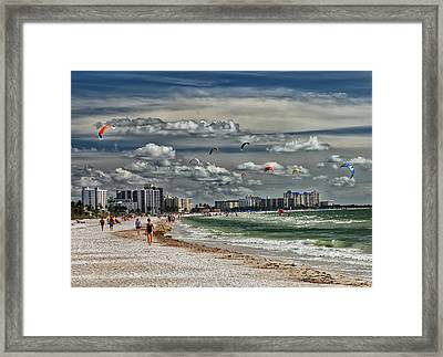 Surfs Up Framed Print by Boyd Alexander