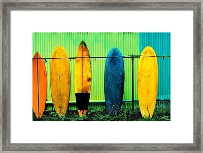 Surf's Up Framed Print by John Wong