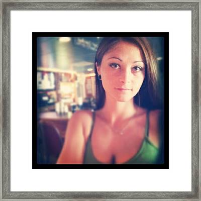 @surfside All Week Till 6 ! Framed Print