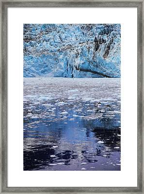 Surprise Glacier Framed Print