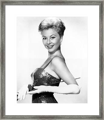 Surprise Package, Mitzi Gaynor, 1960 Framed Print by Everett