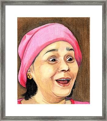 Surprise Framed Print by Saumya Vasudev Karivellur