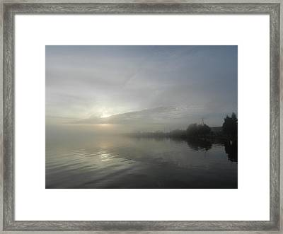 Surreal Mixture Framed Print by Dennis Leatherman