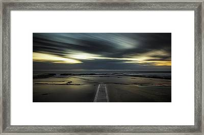 Surreal Narrabeen Framed Print