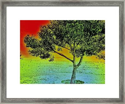 Surreal Tree I. Framed Print by Marianna Mills